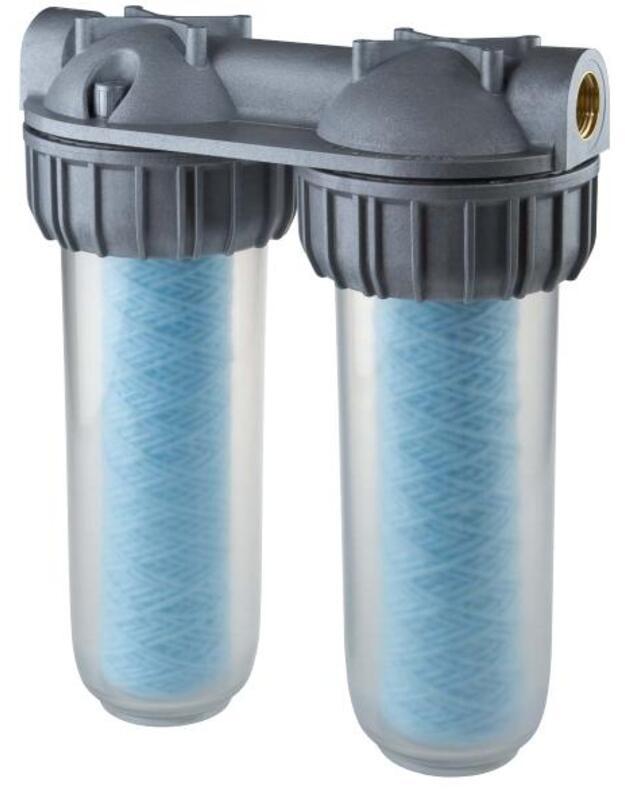 Antibakterinis filtrų korpusas Sanic Senior Duplex