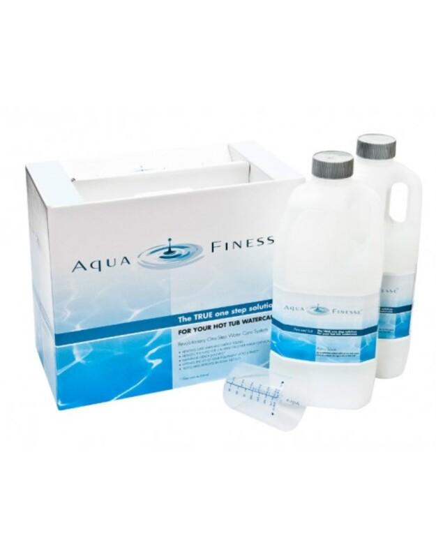 Aquafinesse - masažinio baseino vandens priežiūros rinkinys