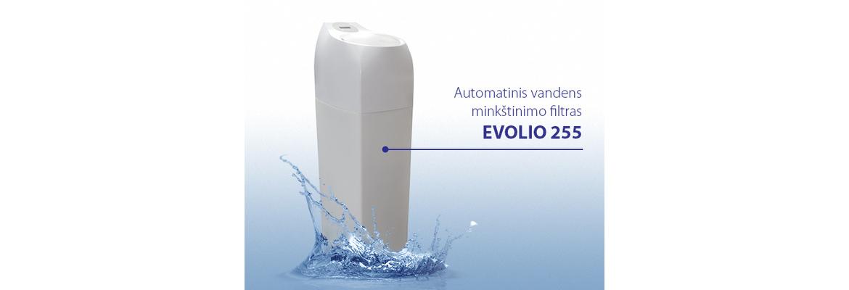 Vandens minkštinimas su EVOLIO filtru